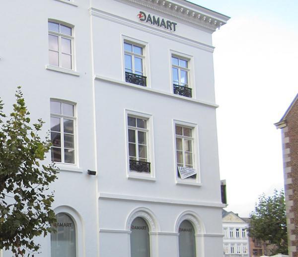 Bouw- en interieurinrichting Damart + 3 appartementen - Sint-Truiden